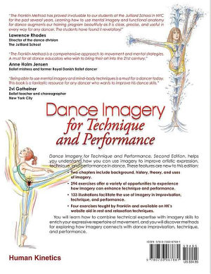 Dance Imagery for Technique and Performance  Second Edition