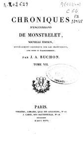 Chroniques d'Enguerrand de Monstrelet: p. 249