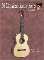 50 Classical Guitar Solos in Tablature PDF