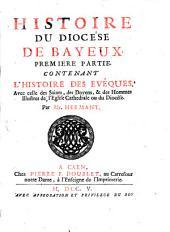 Histoire du Diocese de Bayeux: Partie1