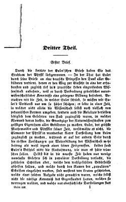 Briefe an eine deutsche Prinzessin   ber verschiedene Gegenst  nde aus der Physik und Philosophie PDF