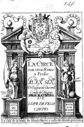 La Circe con otras rimas y prosas