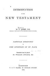 Introduction to the New Testament: Volume 1