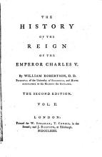 The History of the Reign of the Emperor Charles V     The Second Edition PDF
