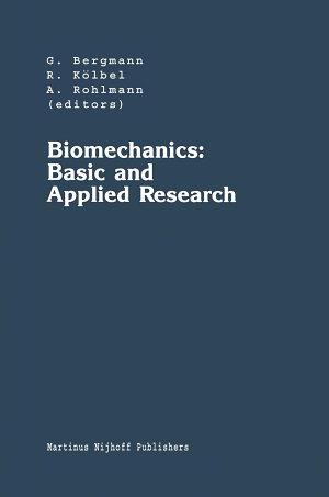 Biomechanics  Basic and Applied Research