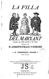La Filla del marxant: drama en tres actes y en vers