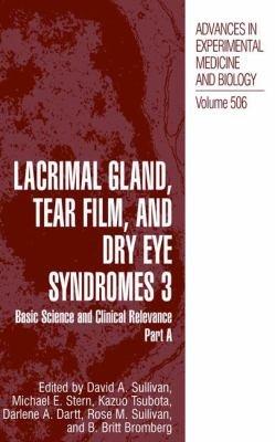 Lacrimal Gland  Tear Film  and Dry Eye Syndromes 3 PDF