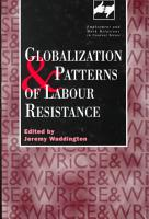 Globalization and Patterns of Labour Resistance PDF