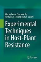 Experimental Techniques in Host Plant Resistance PDF