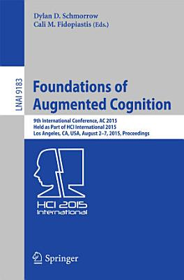 Foundations of Augmented Cognition PDF