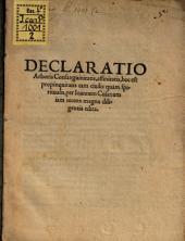 Declaratio arboris Consanquinitatis
