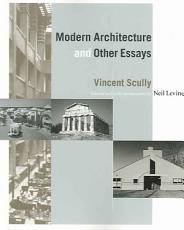 Modern Architecture and Other Essays PDF