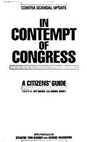 In Contempt of Congress PDF