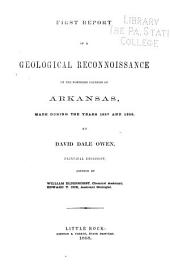 First Report of a Geological Reconnoissance of the Northern Counties of Arkansas, Made During the Years 1857 and 1858: Part 1; Part 295