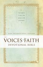 NIV  Voices of Faith Devotional Bible  eBook PDF