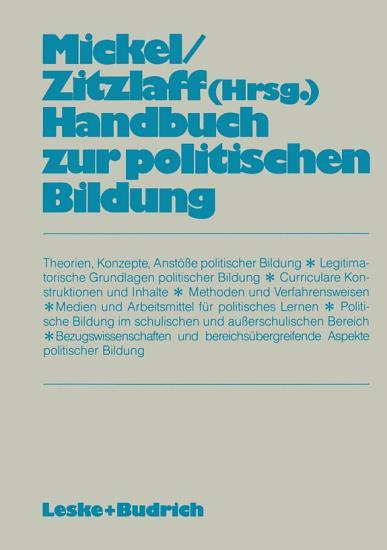 Handbuch zur politischen Bildung PDF