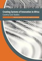 Creating Systems of Innovation in Africa PDF