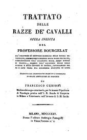 Trattato delle razze de cavalli, opera inedita (etc.)