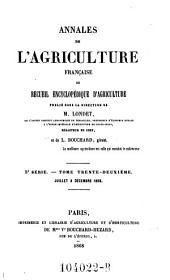 Annales de l'agriculture francoise. Red. par ... Tessier: Volume5;Volume32