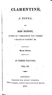 Clarentine: A Novel, Volume 3