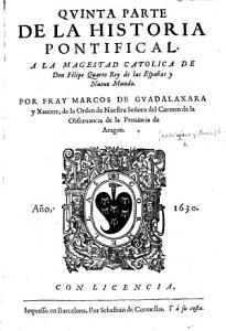 Quinta parte de la Historia pontifical  etc PDF
