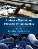 Handbook of Metal Microbe Interactions and Bioremediation PDF