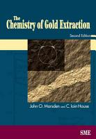 The Chemistry of Gold Extraction PDF