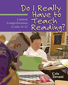 Do I Really Have to Teach Reading  PDF