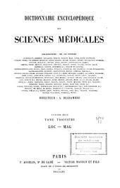 Dictionnaire encyclopédique des sciences médicales: Volume55