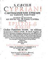 (Ejus) et aliorum ... ad ipsum vel in simili caussa scriptae epistolae LXXXIII seorsum editae studio Lucae Friederici Reinharti