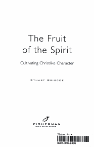 The Fruit of the Spirit PDF
