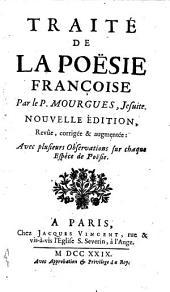 Traité de la poësie françoise