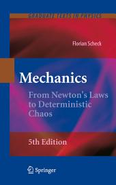 Mechanics: From Newton's Laws to Deterministic Chaos, Edition 5
