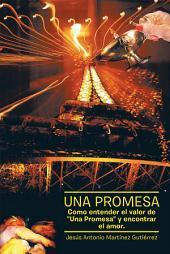 """UNA PROMESA: COMO ENTENDER EL VALOR DE """"UNA PROMESA"""" Y ENCONTRAR EL AMOR"""