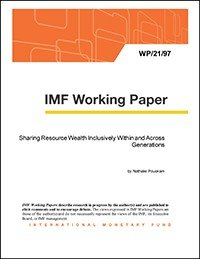 Sharing Resource Wealth Inclusively Within and Across Generations PDF