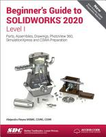 Beginner s Guide to SOLIDWORKS 2020   Level I PDF