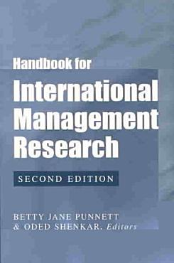 Handbook for International Management Research PDF