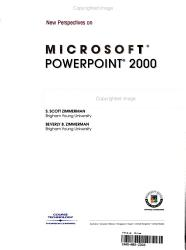 New Perspectives on Microsoft PowerPoint 2000  Comprehensive PDF
