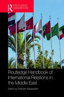 Routledge Handbook of International Relations in the Middle East PDF