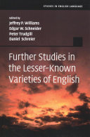Further Studies in the Lesser Known Varieties of English PDF