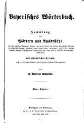 Bayerisches wörterbuch: Band 1