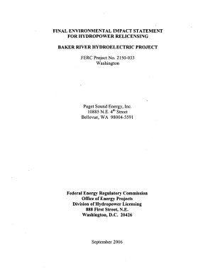 Baker River Hydroelectric Project  Hydropower Relicensing