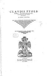 Geographicae Enarrationis Libri Octo: gewidmet Sebastiano episcopo Brixinensis, Volume 0