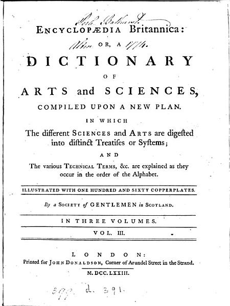 Download Encyclop  dia Britannica  or  A dictionary of arts and sciences  compiled by a society of gentlemen in Scotland  ed  by W  Smellie   Book