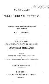 Tragoediae septem: Volume 2