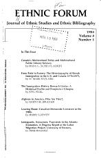 Ethnic Forum PDF