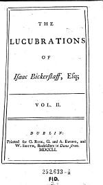"""""""The"""" Lucubrations of Isaac Bickerstaff , Esq"""