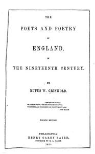 The Poets and Poetry of England  in the Nineteenth Century PDF