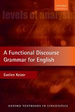 A Functional Discourse Grammar for English