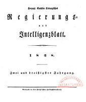 Herzogl.-Sachsen-Coburgisches Regierungs- und Intelligenzblatt: 1838